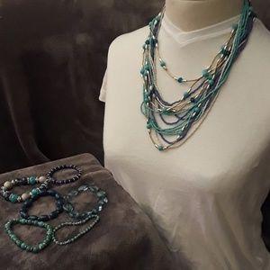 Jewelry - Necklace, and bracelets